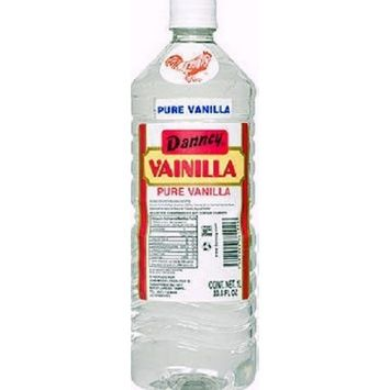 1 X Clear Danncy Pure Mexican Vanilla Extract From Mexico 33oz Each 1 Plastic Bottle Sealed