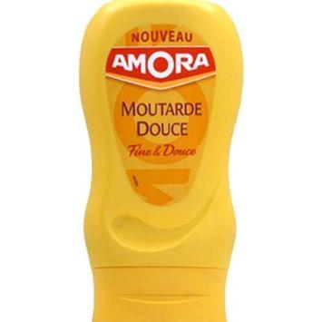 French Mild Dijon Mustard Amora - Moutarde de Dijon Douce Flacon Souple - 9.35 oz