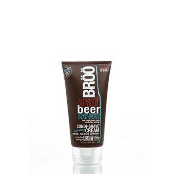BRÖÖ Craft Beer Barber Condi-Shave Cream - 5.0 fl.oz.(150 ml) - Fresh Hop'd