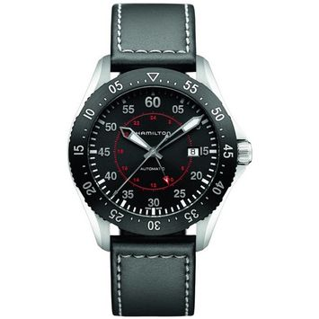 Hamilton Khaki Aviation Pilot GMT Mens Watch H76755735