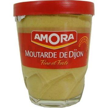 Amora Dijon Mustard - Fine and Strong - 5.3 oz jar, One