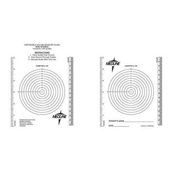 Medline MSC6252 Wound Measuring Bullseye (Pack of 250)
