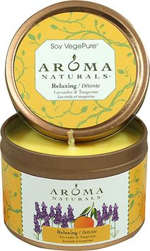 RELAXING AROMATHERAPY by Relaxing Aromatherapy ONE 2.5x1.75 inch TIN SOY AROMATHERAPY CANDLE. COMBINES THE ESSENTIAL OILS OF LAVENDER AND TANGERINE TO CREATE A FRAGRANCE THAT REDUCES STRESS. BURNS APPROX. 15 HRS for UNISEX