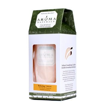 Relaxing Aromatherapy Women One X Inch Pillar Aromatherapy Candle