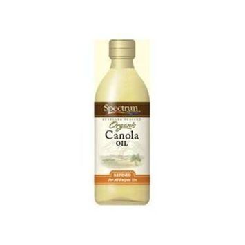 Spctrm Canola Oil, Organic, Refined, lb (pack of 35 )