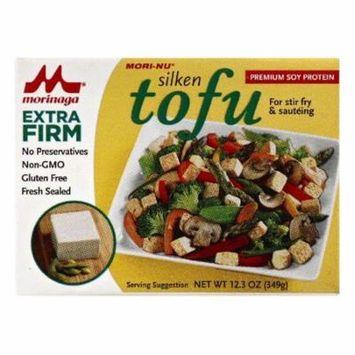 Mori Nu Extra Firm Tofu, 12.3 OZ (Pack of 12)