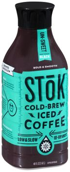 Stok™ Un-Sweet Black Cold-Brew Iced Coffee