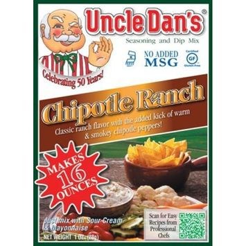 Uncle Dan's Chipotle Ranch Dressing, Dip, and Seasoning Mix - Packet