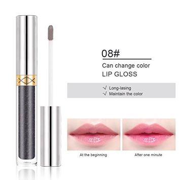 Natural Moisturizing Lip Gloss, Alonea Color Changing Flower Shiny Beauty Lipstick Moisturizing Long Lasting