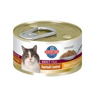 Science Diet Adult Hairball Control Canned Cat Food - Savory Chicken