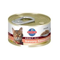 Hill's Science Diet Adult Savory Salmon Entre Canned Cat Food