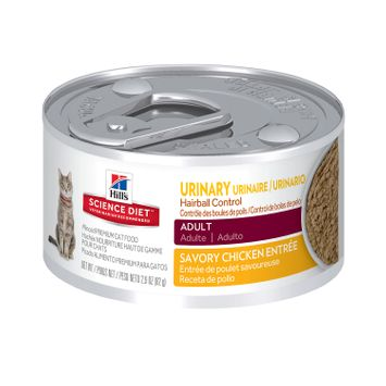 Hill's Science Diet Adult Urinary Hairball Control Canned Cat Food