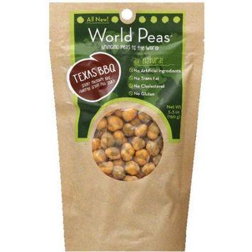 World Peas Texas BBQ Peas, 5.3 oz, (Pack of 6)