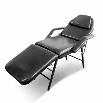 No Assembly Foldable Adjustable Massage Bed Chair Beauty Spa Salon Barber Tattoo Chair