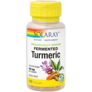Organically Grown Fermented Turmeric (100 Vegicap) by Solaray at the Vitamin Shoppe