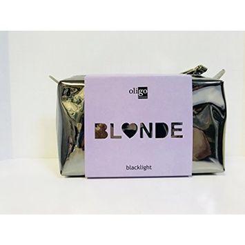 Oligo BLONDE ON THE GO KIT Nourishing Shampoo, Conditioner 2oz, Blacklight Blue Shampoo, Conditioner 2oz