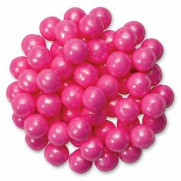 Shimmering Pink Edible Candy Pearls - Great for cupcakes, cookies, cake pops - 4 oz