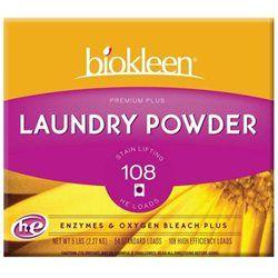 biokleen Premium Plus All Temperature Laundry Powder with Enzymes