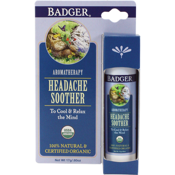 BADGER® Aromatherapy Headache Soother