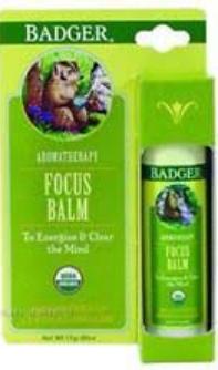 BADGER® Focus Balm Aromatherapy Stick