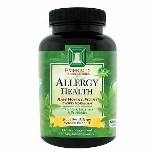 Emerald Labs Allergy Health, 120 Capsules, Ultra Laboratories