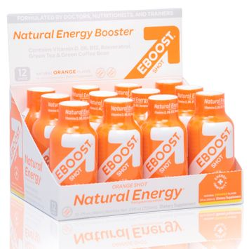 Eboost Orange Natural Energy Shot