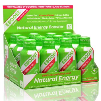 Eboost Berry Melon Energy Shot