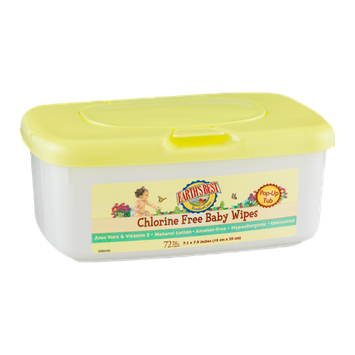 Earth's Best Chlorine Free Baby Wipes - 72 CT