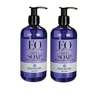 EO - Liquid Hand Soap, French Lavender - 12 fl. oz. (2 Pack)