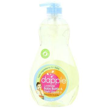 Baby Bottle+Dish Liquid 16.90 Ounces (Pack of 2) - Lavender