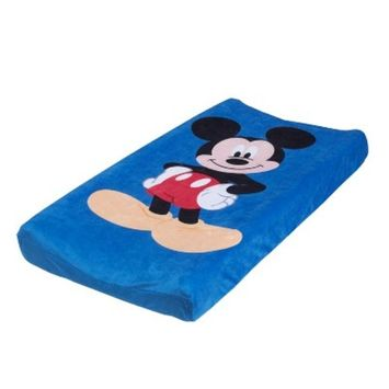 Disney Changing Pad Cover - Mickey Mouse - White