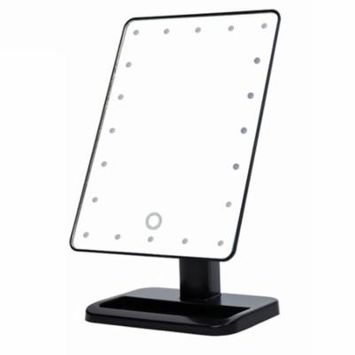 Beauty Cosmetic Make Up Illuminated Desktop Stand Mirror With 20 LED Light