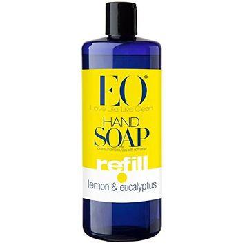 EO Products Lemon And Eucalyptus Liquid Hand Soap