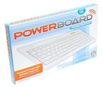 Datel Powerboard USB Keyboard for Nintendo Wii