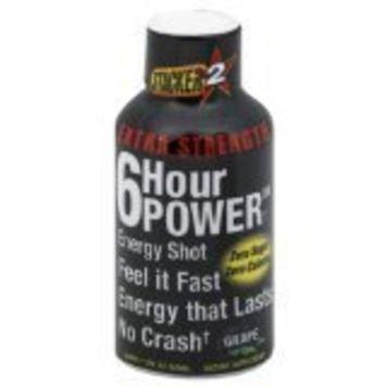 Stacker 2 Extreme 6 Hour Power Energy Shot, GRAPE, 2 Ounce Bottles (Pack of 12)