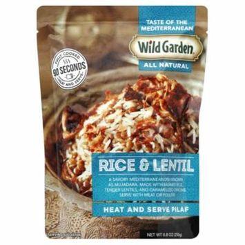 Wild Garden All Natural Heat & Serve Pilaf, Rice & Lentil, 8.8 Oz