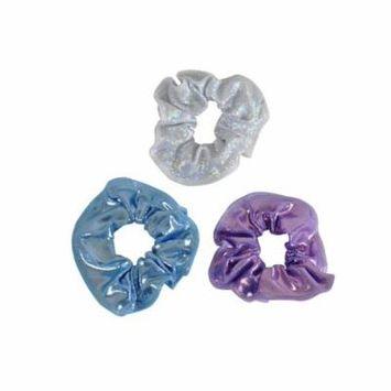 Obersee Hair Tie 3-Pack - Lavendar/Cloud/Silver Hologram