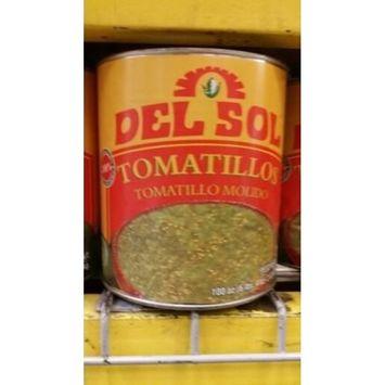 Del Sol Crushed Tomatillos 100 Oz (6 Pack)