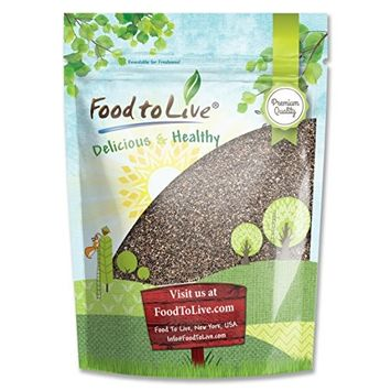 Food To Live Chia Seeds, 5.0 Lb, 80 Servings
