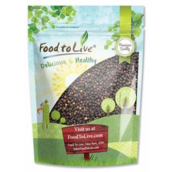 Food to Live Black Pepper Whole (Peppercorn) (4 Pounds)