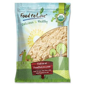 Food to Live Certified Organic Ginger Root Powder (Non-GMO, Bulk, Raw Ground Ginger Root, Flour) (8 pounds)