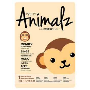 Masque Bar™ Pretty Animalz Monkey Nourishing Face Sheet Mask - 0.71 fl oz