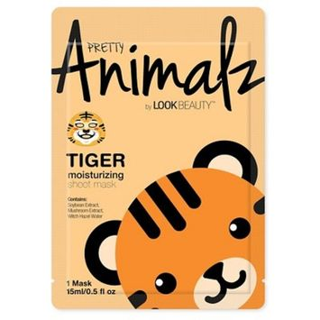 Pretty Animalz by Look Beauty™ Moisturizing Sheet Mask - Tiger - 1ct