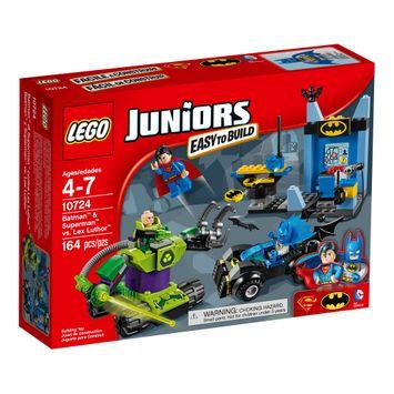 LEGO Juniors Batman and Superman vs. Lex Luthor 10724