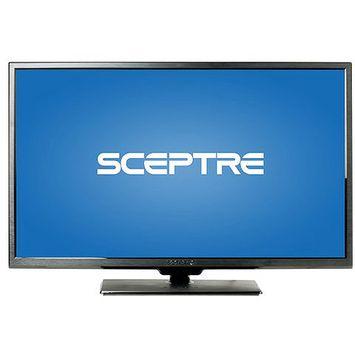 Sceptre Inc. Sceptre X322BV-HDR 32.0-inch LED HDTV with Ultra Slim Metal Brush Bezel - 720p - 60 Hz - 16:9 - VGA, HDMI - Black