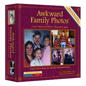 All Things Equal Awkward Family Photos Board Game