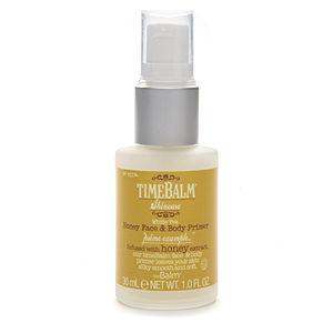 theBalm timeBalm Skincare Honey Face & Body Primer