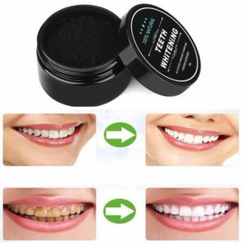 Outad Clearance! Teeth Whitening Powder Natural Organic Activated Charcoal Bamboo Toothpaste