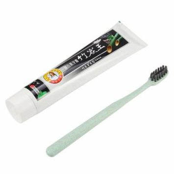 160g Bamboo Charcoal Toothpaste Remove Smoke Stains Toothpaste+Toothbrush Set
