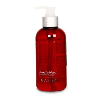THANN Aromatic Wood Aromatherapy Shower Gel 10.82oz